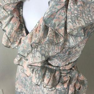 Love 21 ruffle wrap dress